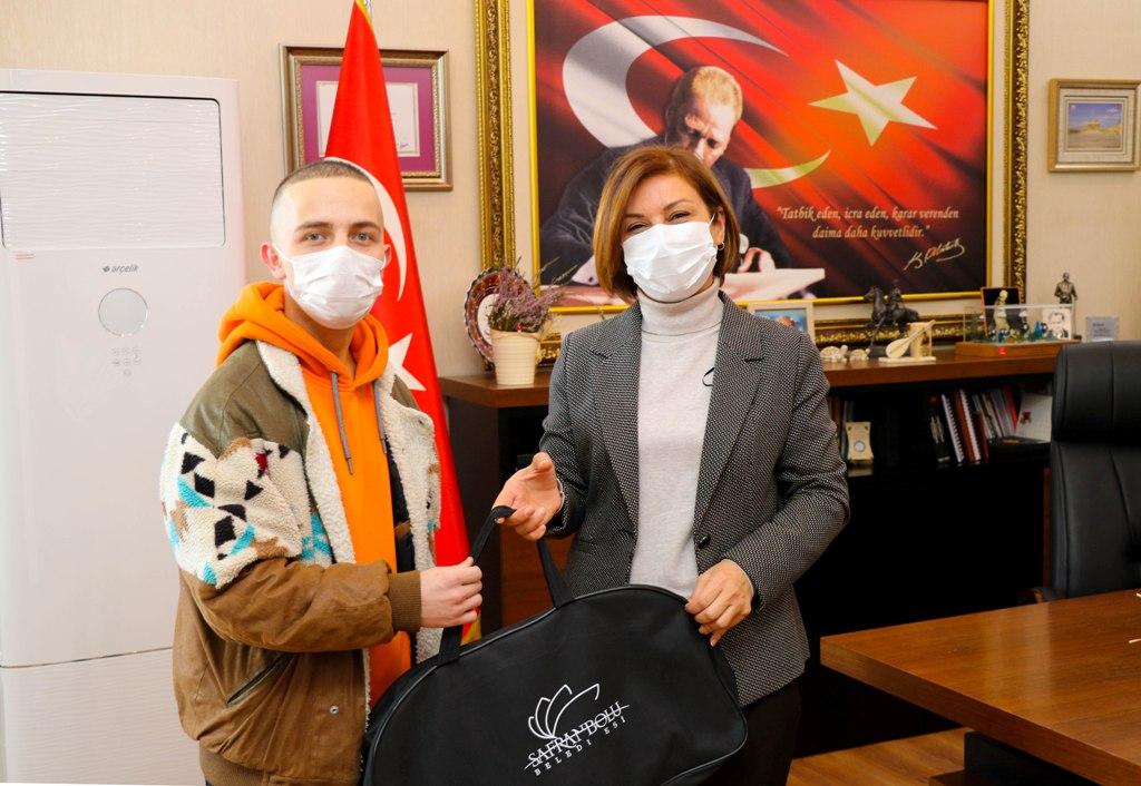 Safranbolu Belediye Başkanı Köse'ye Asker Ziyareti