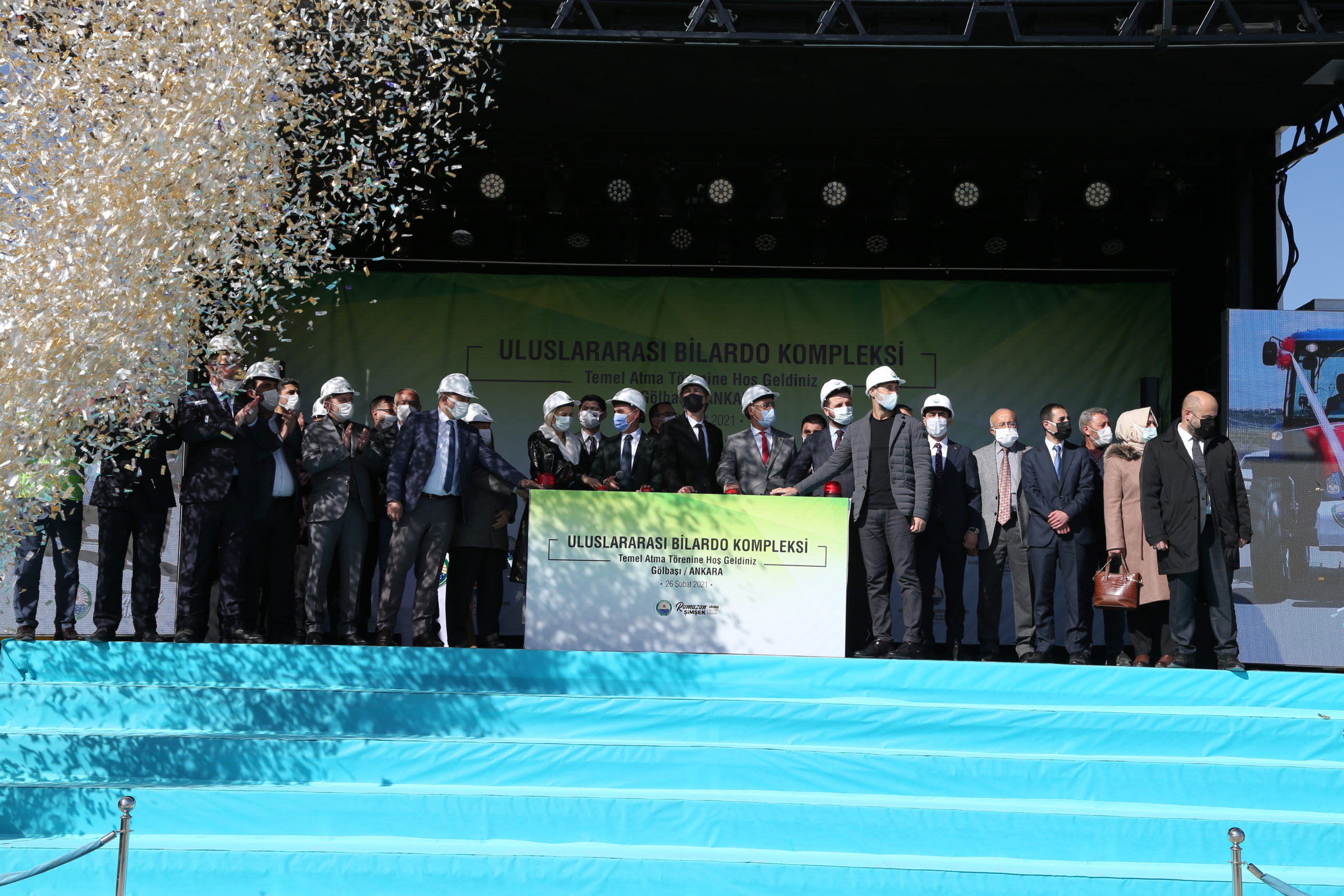 Ankara Gölbaşı, Bilardonun Merkezi Olacak