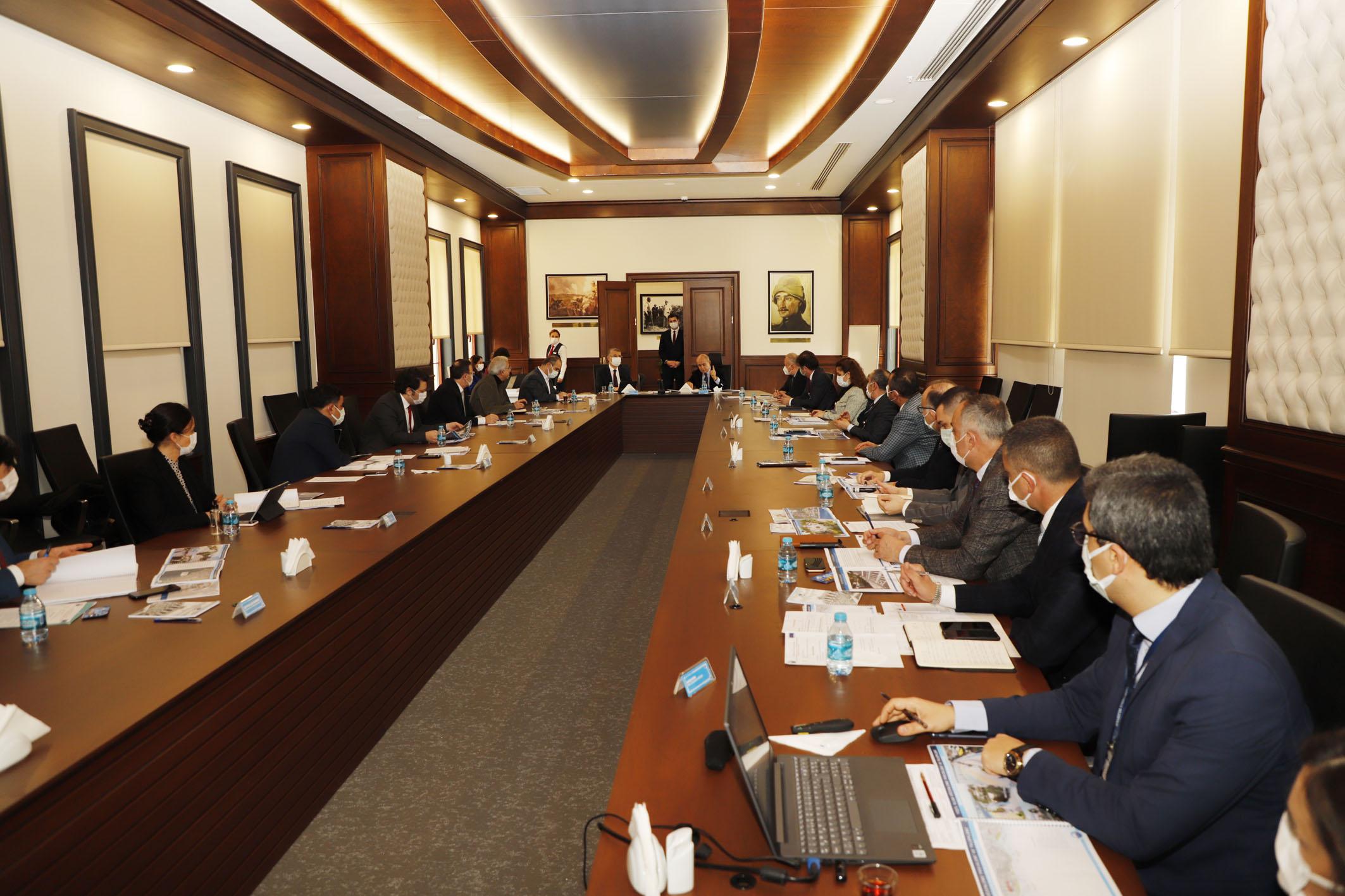 Büyükşehir Belediyesi ve Büyükçekmece Belediyesi Koordinasyon Toplantısı Gerçekleştirdi