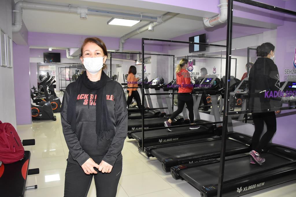 Kadın Spor Merkezi, Şehzade'li Kadınlara Yeniden Hizmet Vermeye Başladı