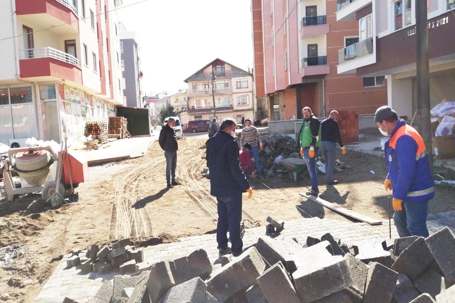 Giresun'da Alt Yapı Çalışmaları Tüm Hızıyla Devam Ediyor