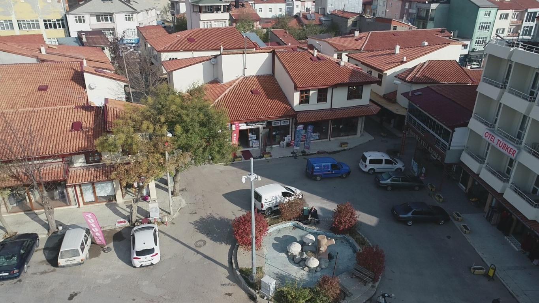 Arasta Çarşısı Restorasyonu Devam Ediyor