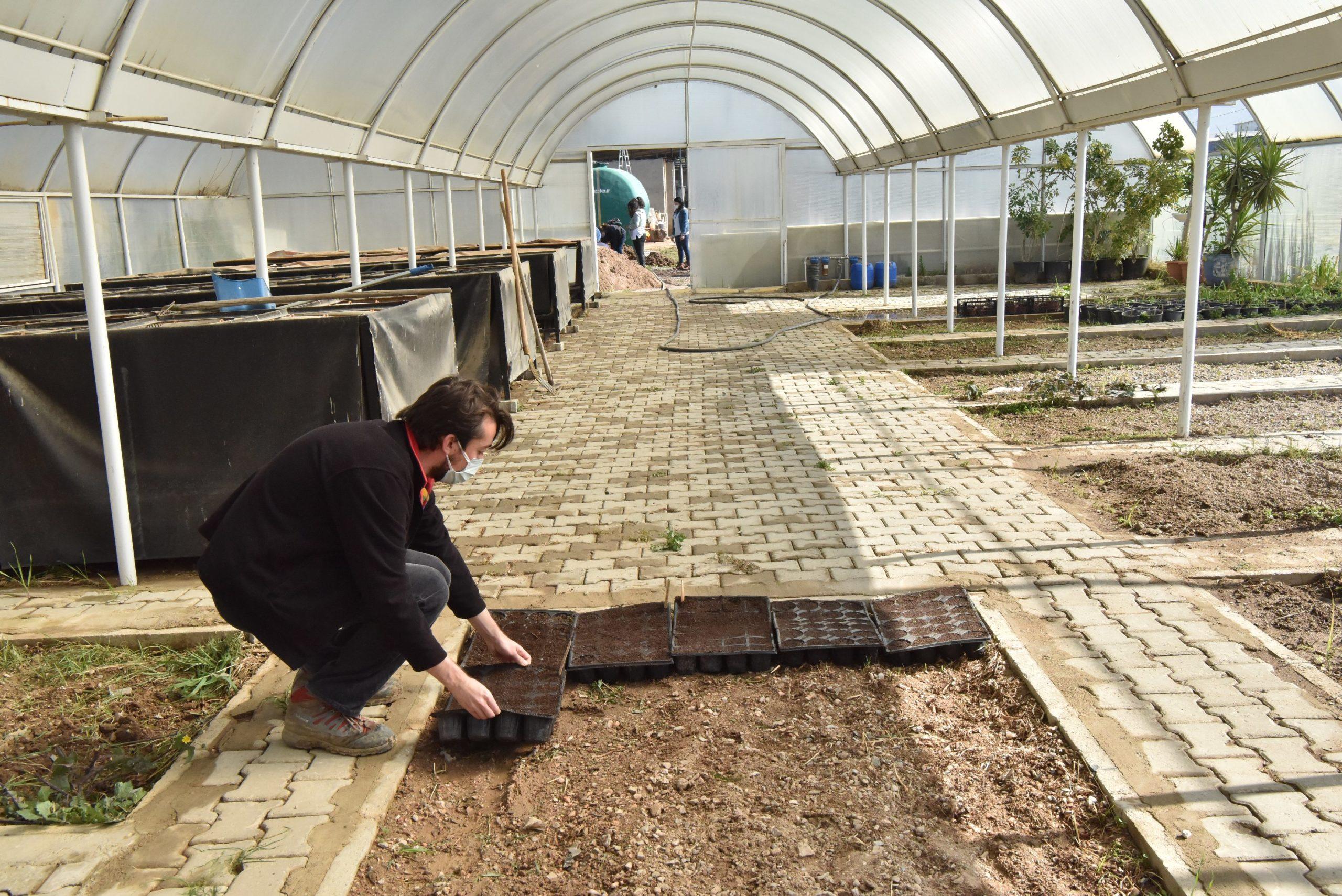Bornova'da Yaz Tohumları Toprakla Buluştu