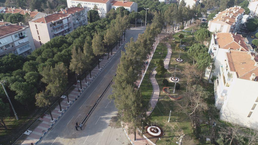 Manisa'da Prestij Caddelere Yenileri Ekleniyor