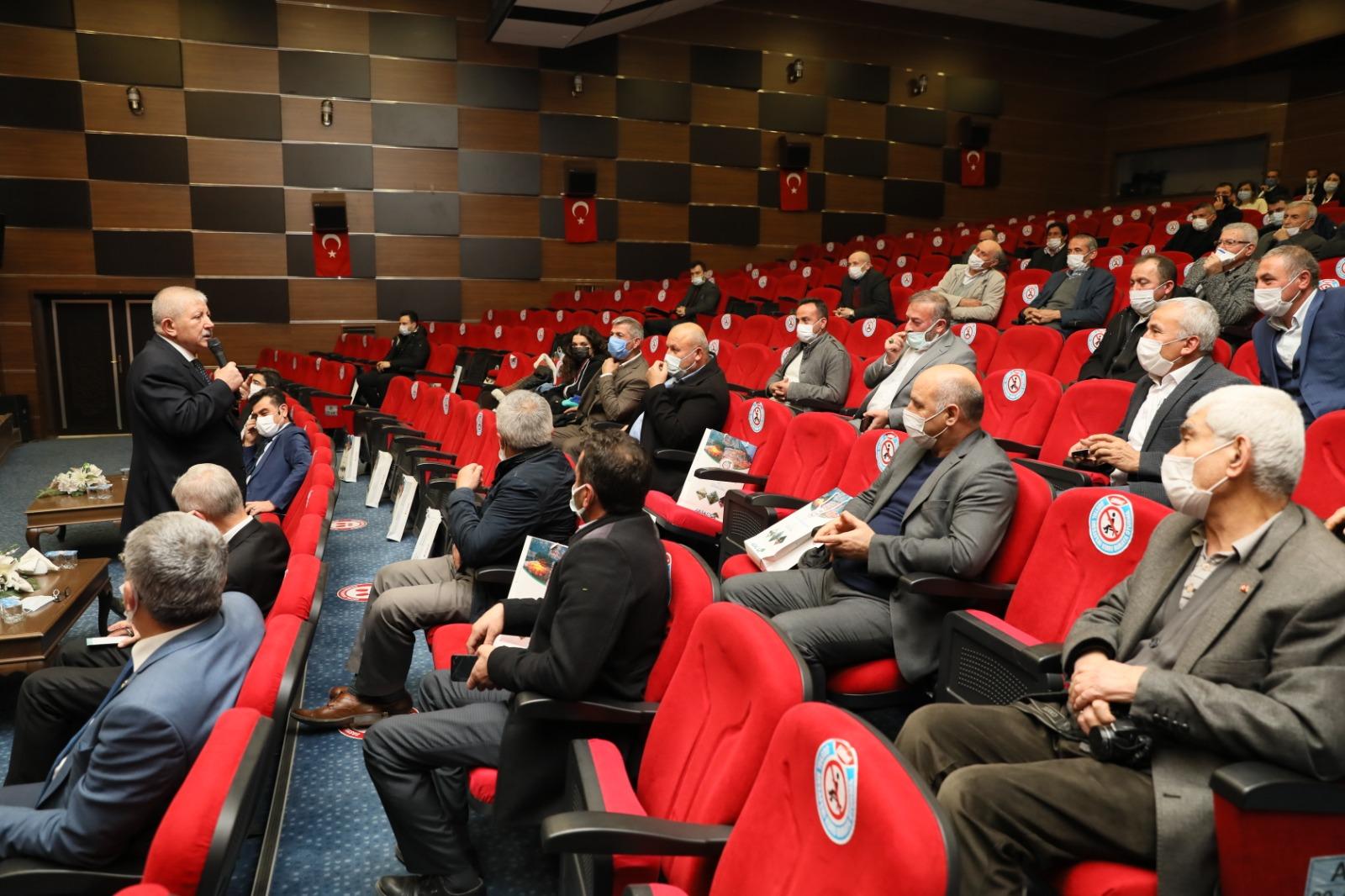 Amasya'da Muhtarlarla Gastranomi Toplantısı