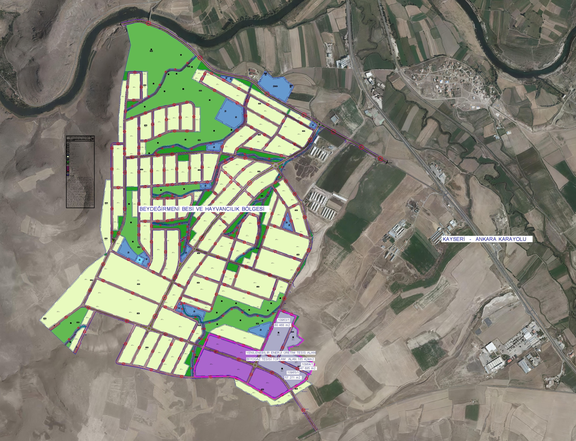 Kayseri'de Metan Gazı ile Elektrik Üretimi