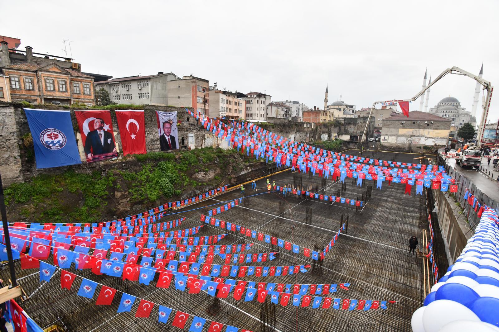Trabzon'da Kadınlar Pazarının Temeli Atıldı