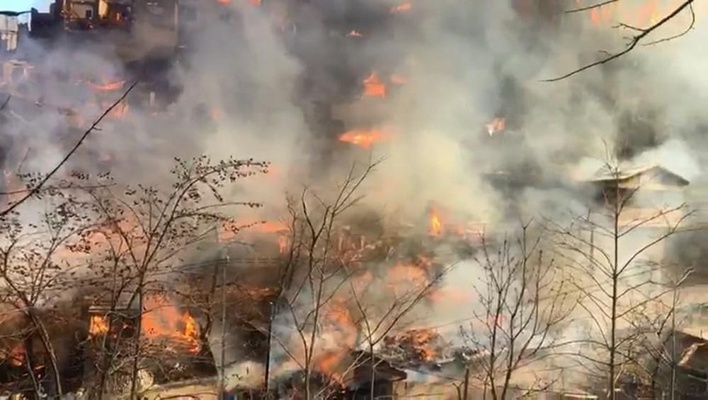 Yusufeli Dereiçi Köyü'ndeki Yangın İçimizi Yaktı
