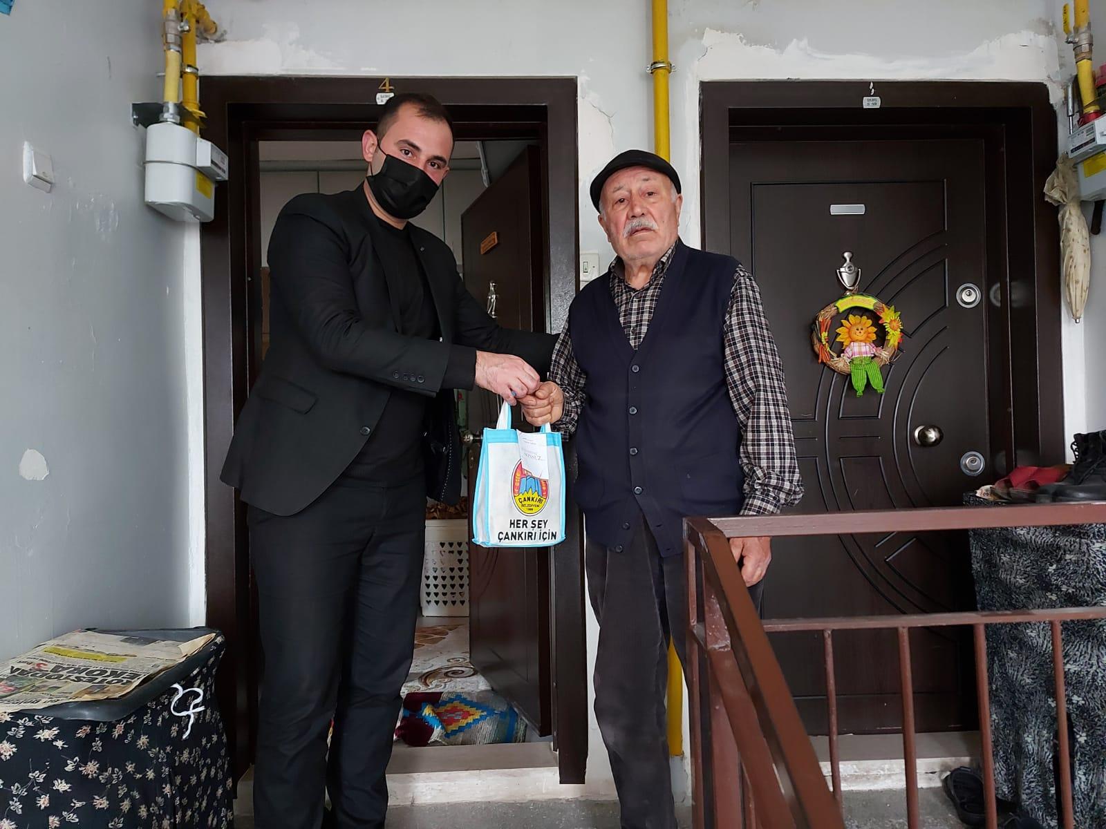 Çankırı'da Yaşlılara Saygı  Haftasına Özel Türk Kahvesi