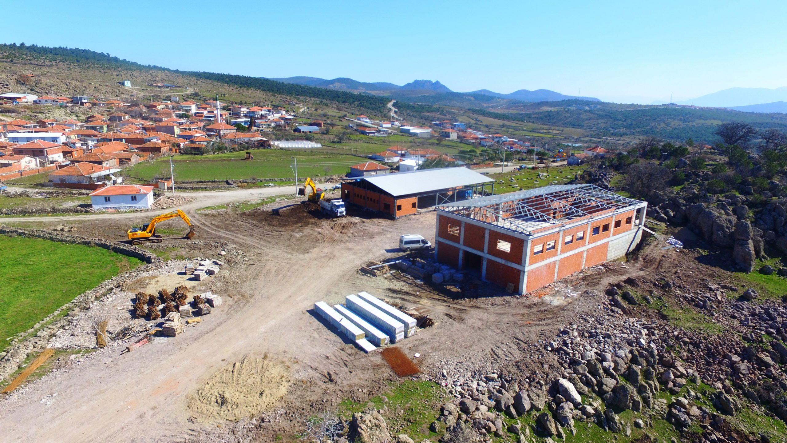 Yunusemre Pelitalan Kırsal Kalkınma Merkezi Yapımı Sürüyor