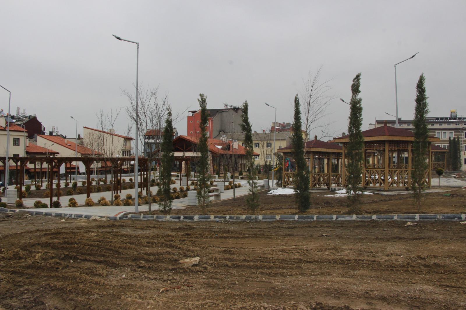 Seydişehir Seyyid Harun'da Çevre Düzenlemesi Sona Yaklaştı