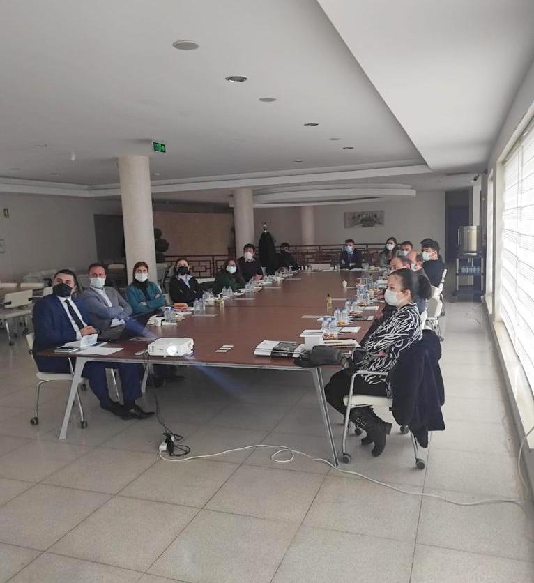 Çankırı'da İlçe Belediyelere Hibe Destekleri Eğitimi