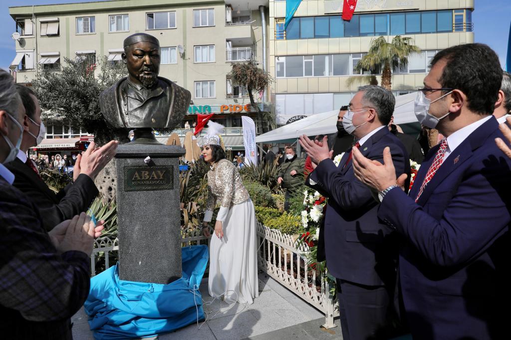 Abay Kunanbayev'in Adı Zeytinburnu'nda Meydana Verildi