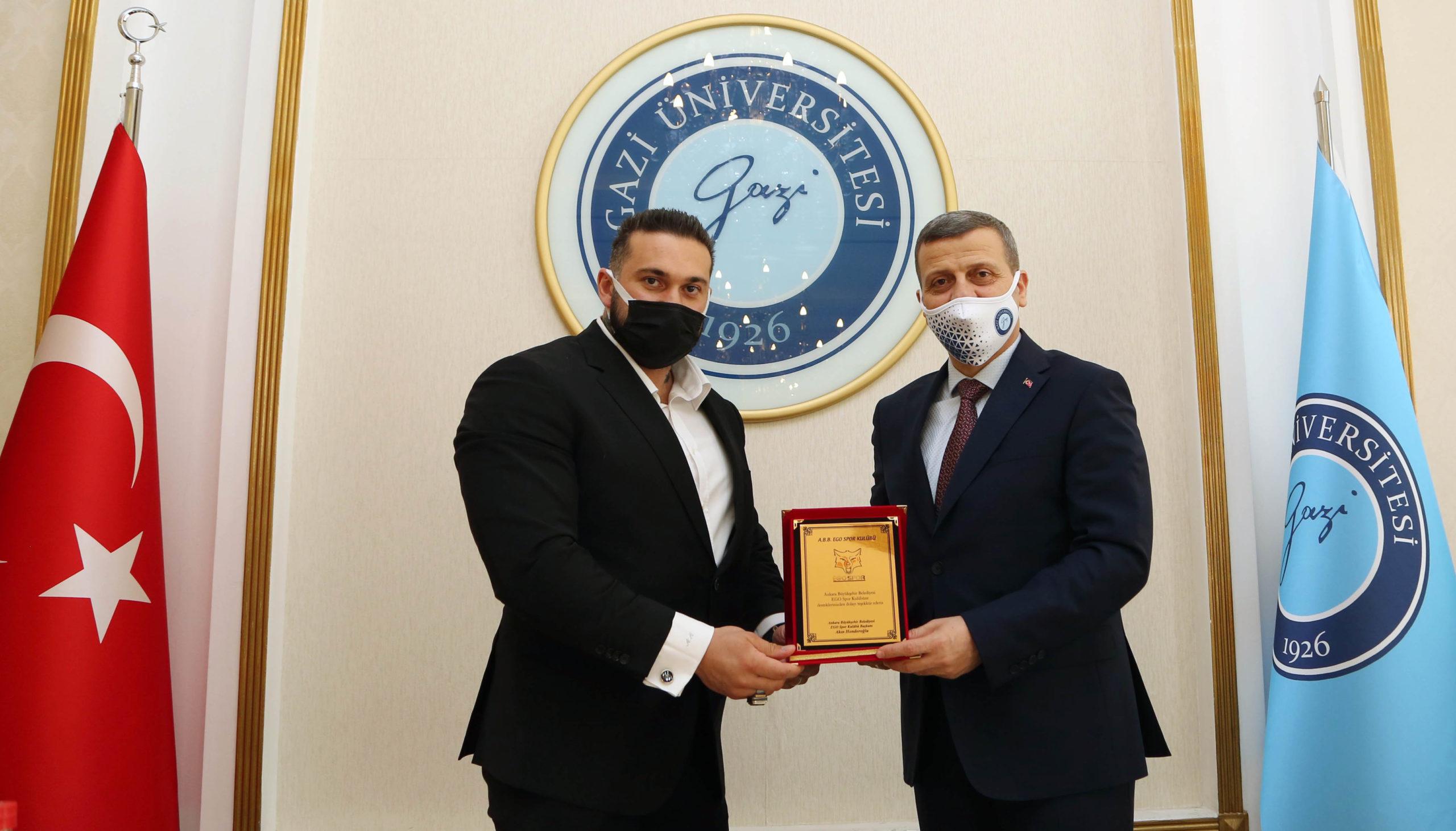 EGO Spor Kulübü ve Gazi Üniversitesi Sporcular İçin İş Birliği Yapacak