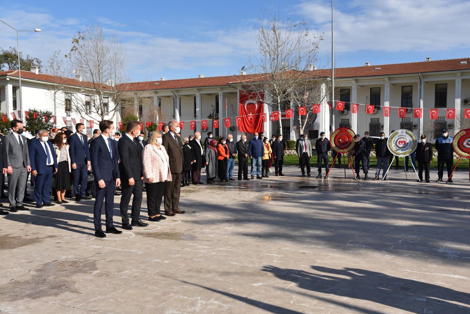 Ceyhan Belediye Başkanı Erdem, 18 Mart Çanakkale Zaferi Anma Törenlerine Katıldı