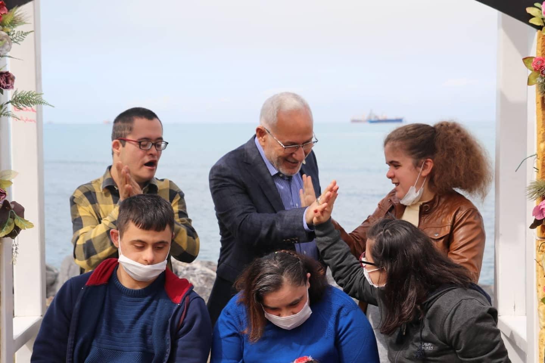 İskenderun Belediye Başkanı Down Sendromu Farkındalık Gününde Çocuklarlaydı