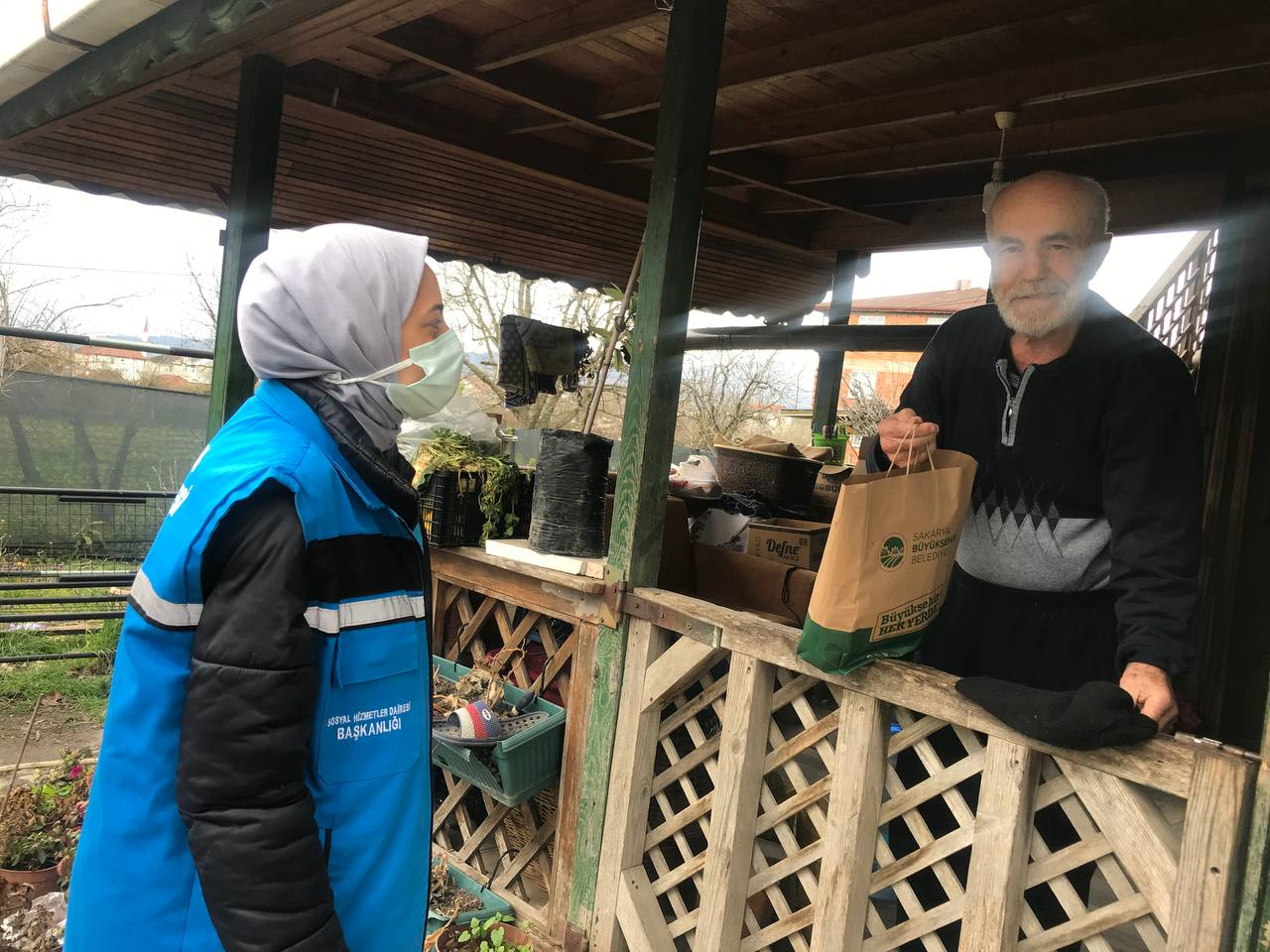 Sakarya'da YADEM Yaşlılar Haftasını Unutmadı