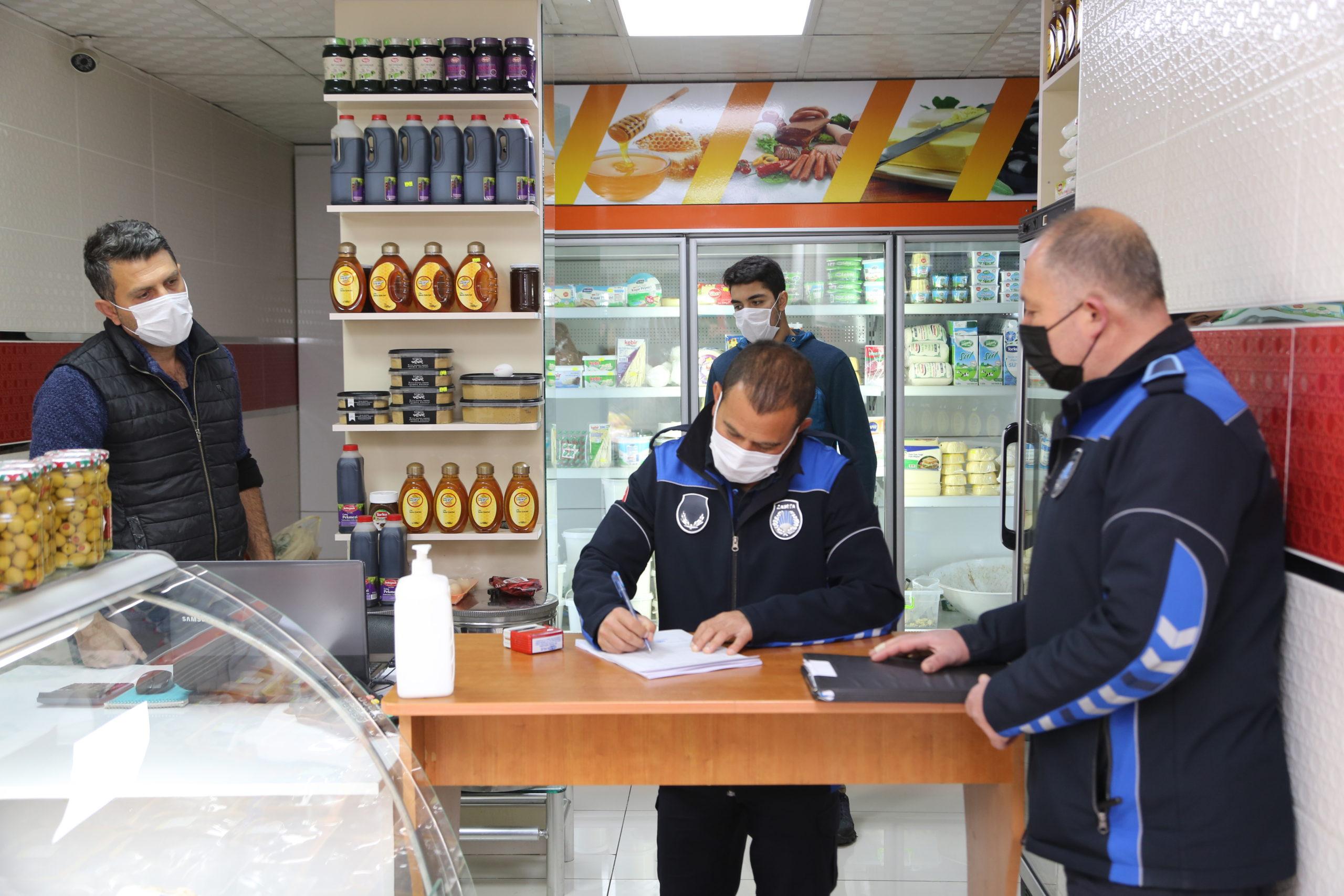 Erdemli'de Salgın Denetimleri Sorunsuz Sürüyor