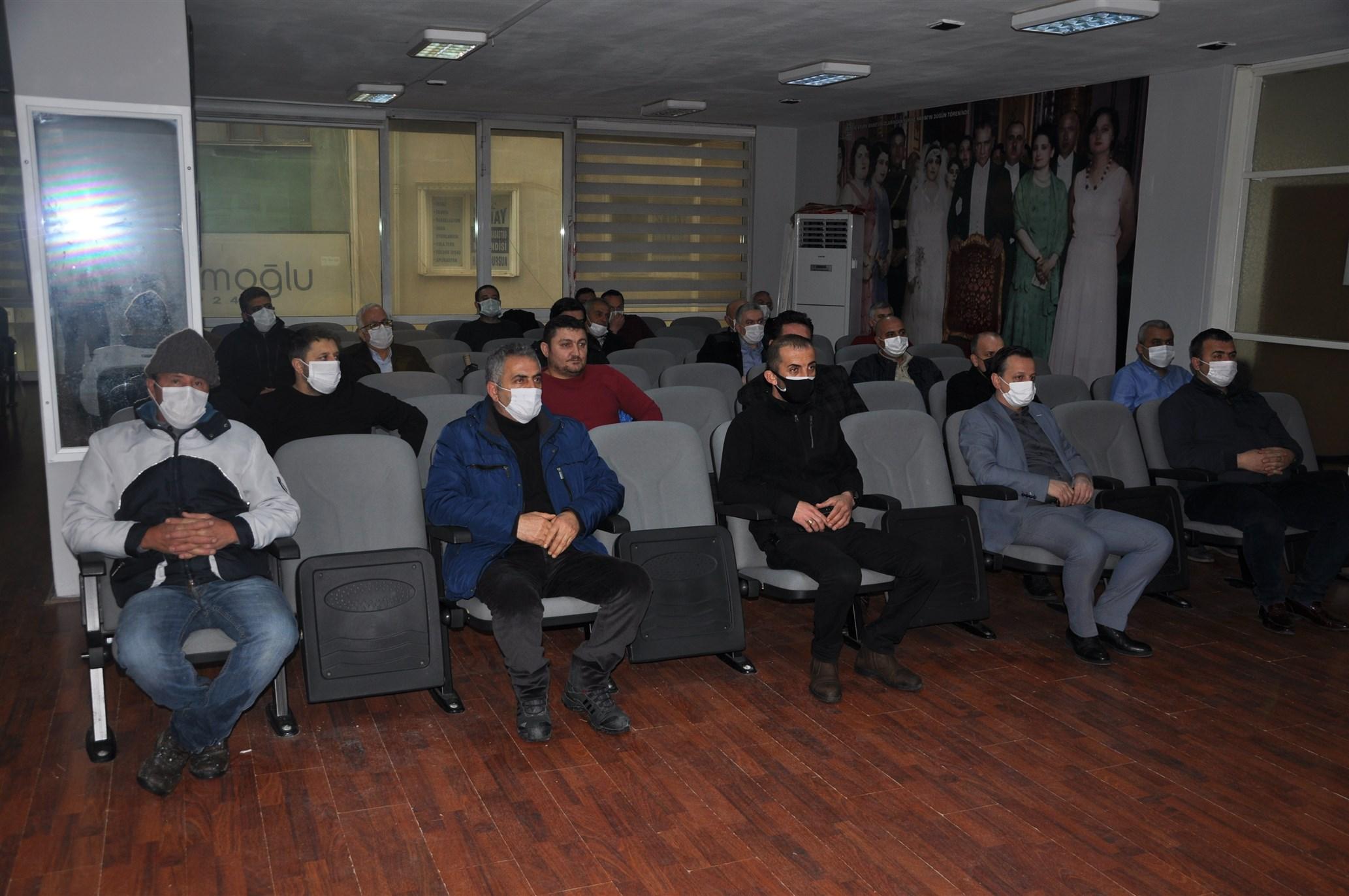Orhangazi'de Belediye Personeline Afet Bilinci Eğitimi Verildi