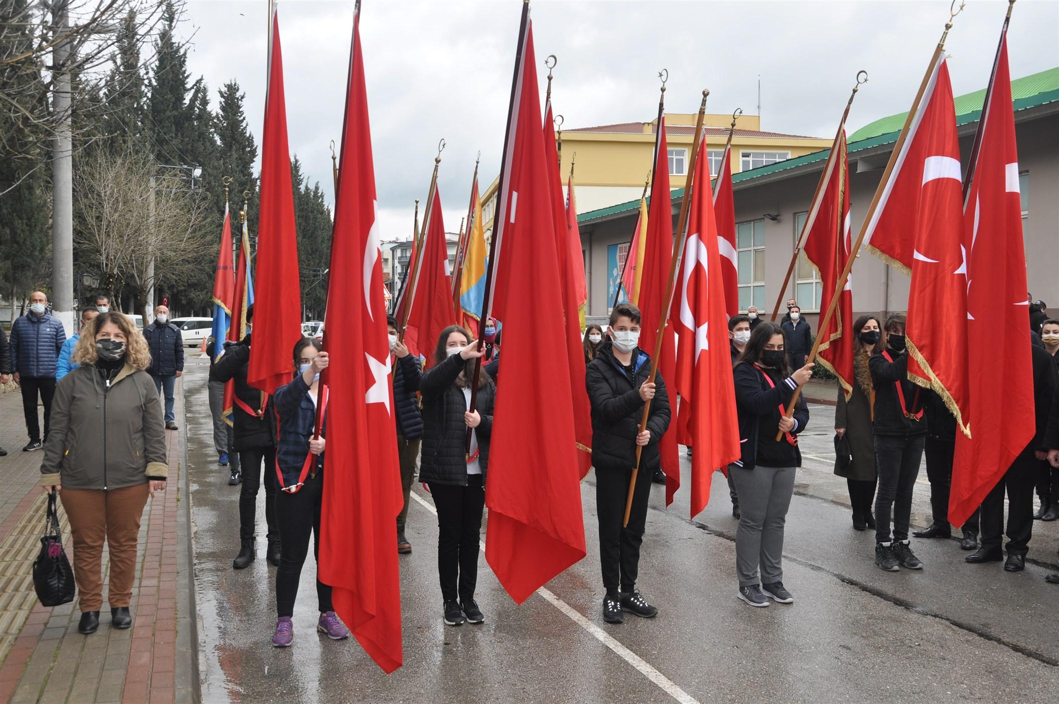 Orhangazi'de Çanakkale Zaferi'nin 106. Yılı Gururla Kutlandı