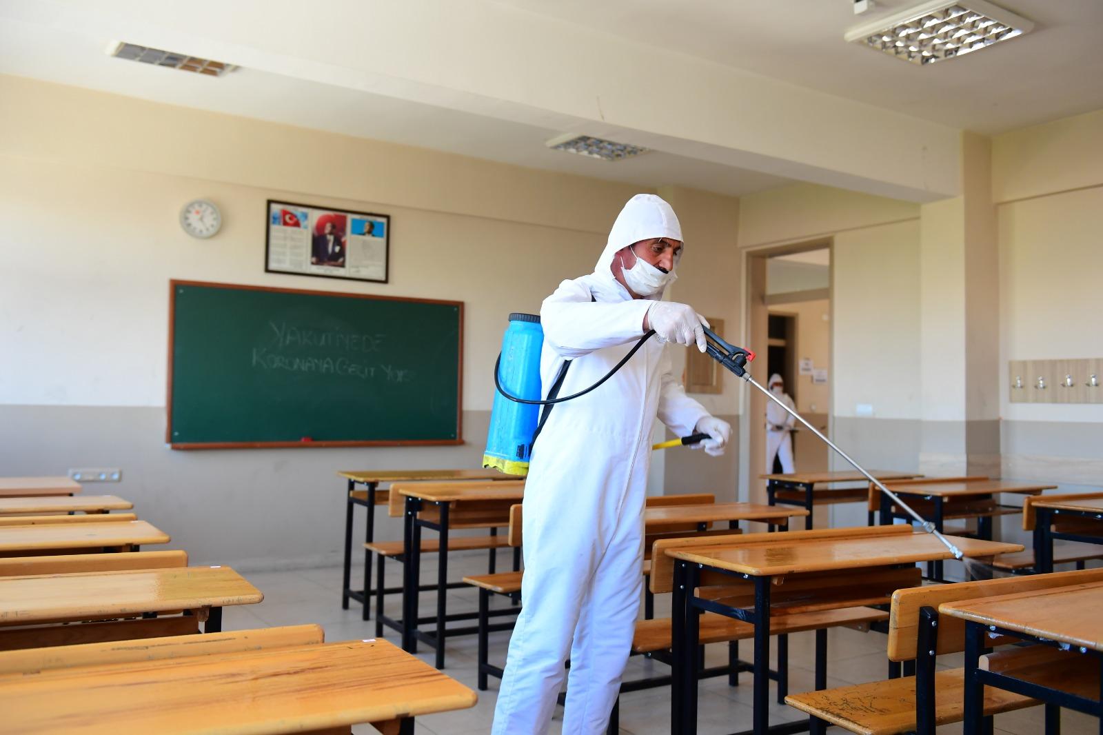 Yakutiye'de Dezenfeksiyon İşlemleri Hız Kesmiyor