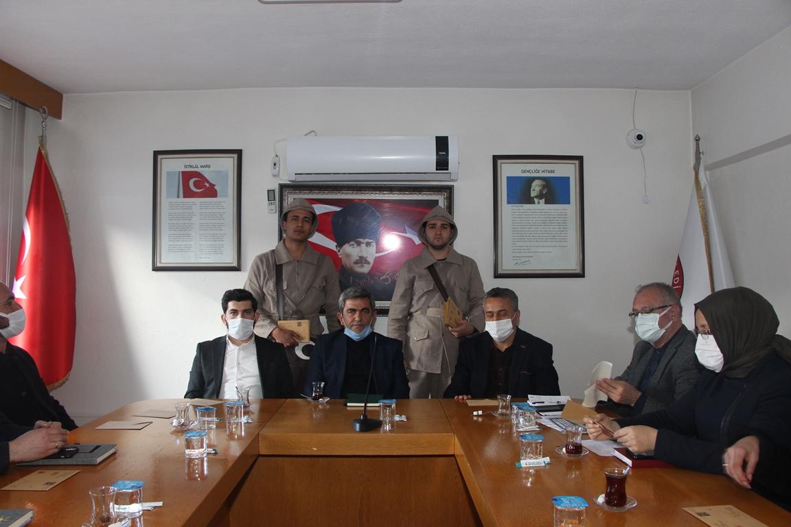 Konya'da 18 Mart'a Özel Anlamlı Etkinlik: 'Çanakkale'den Mektup Var'