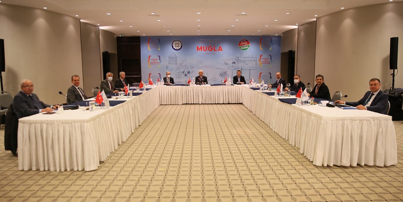 CHP'li Büyükşehir Belediye Başkanları Muğla'da Buluştu