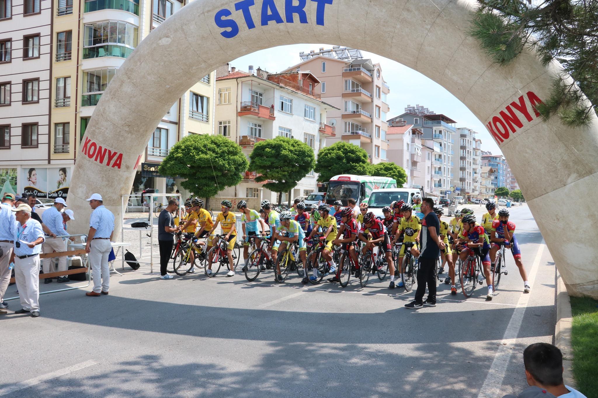Cumhurbaşkanlığı Türkiye Bisiklet Turunun 3. Etap Startı Beyşehir'de