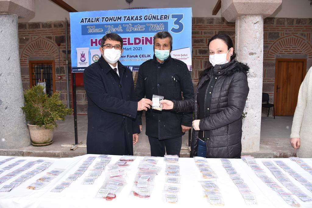 Manisa Şehzadeler'de Atalık Tohum Takas Günlerinin Üçüncüsü Düzenlendi