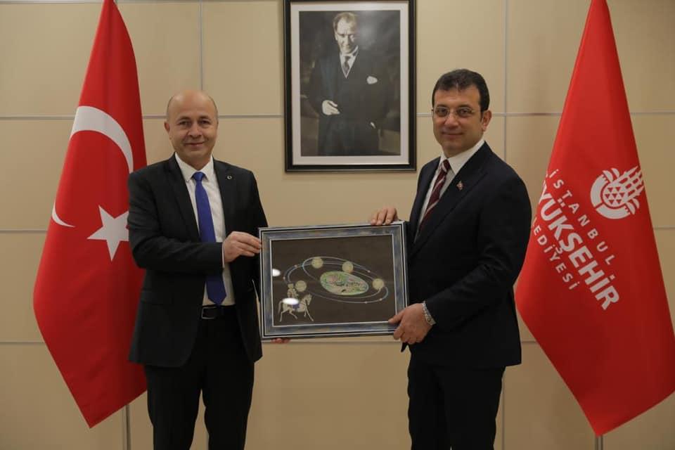 Amasra Belediye Başkanı Çakır'dan İmamoğlu'na Ziyaret