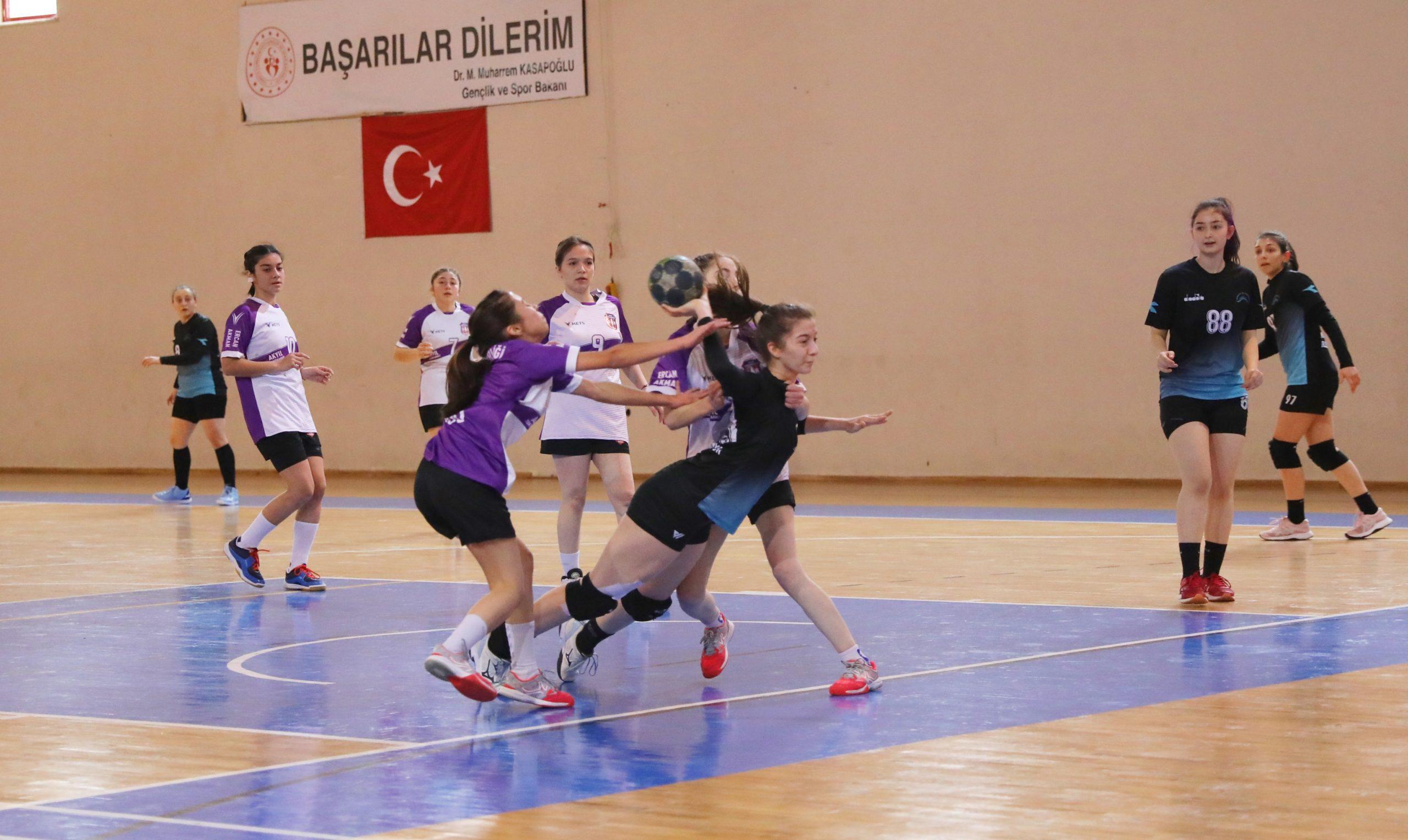 Mudanya Belediyespor Kadın Hentbol Takımı Galip