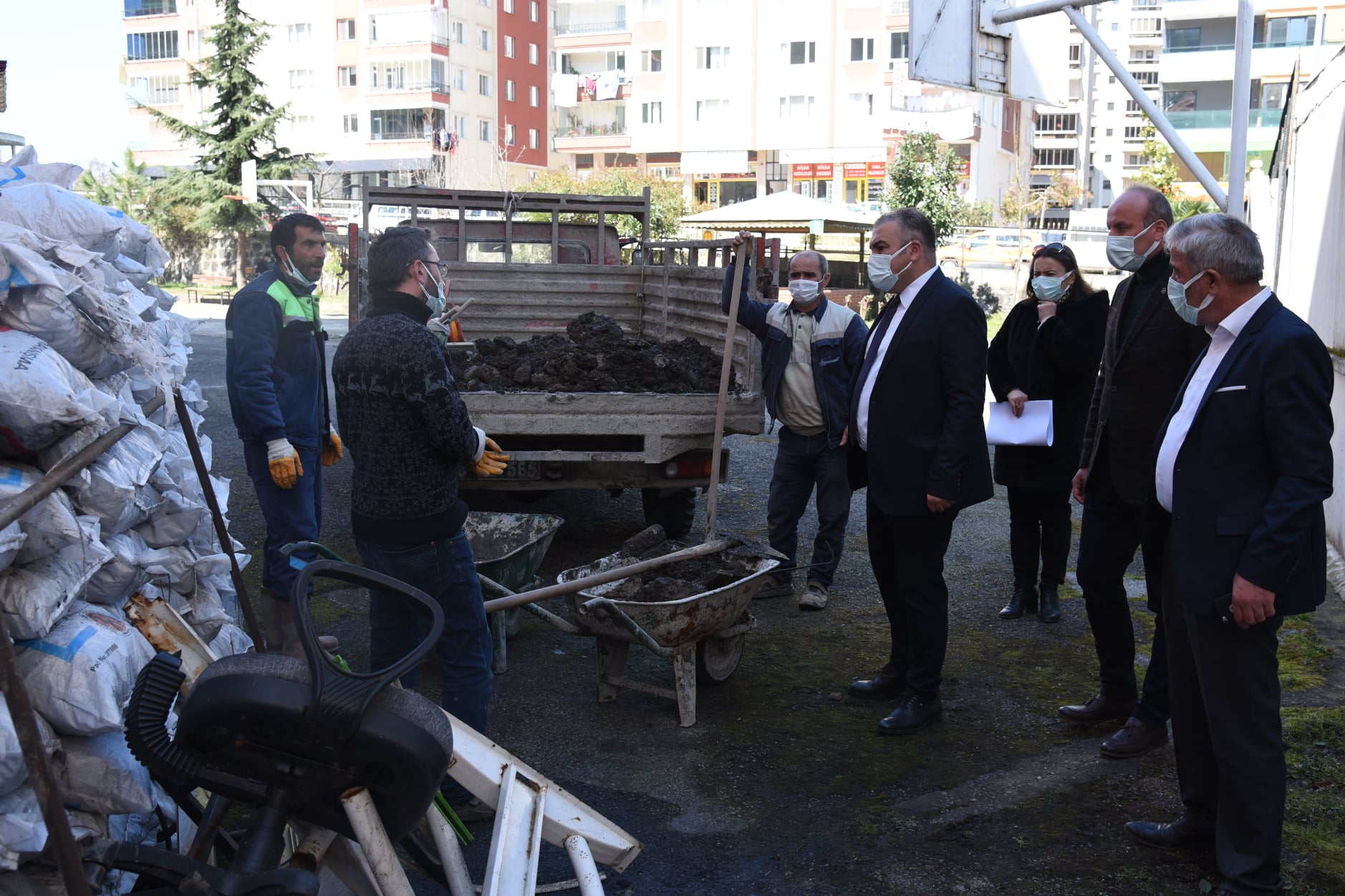 Görele Belediyesi Hizmet Çalışmalarını Sürdürüyor