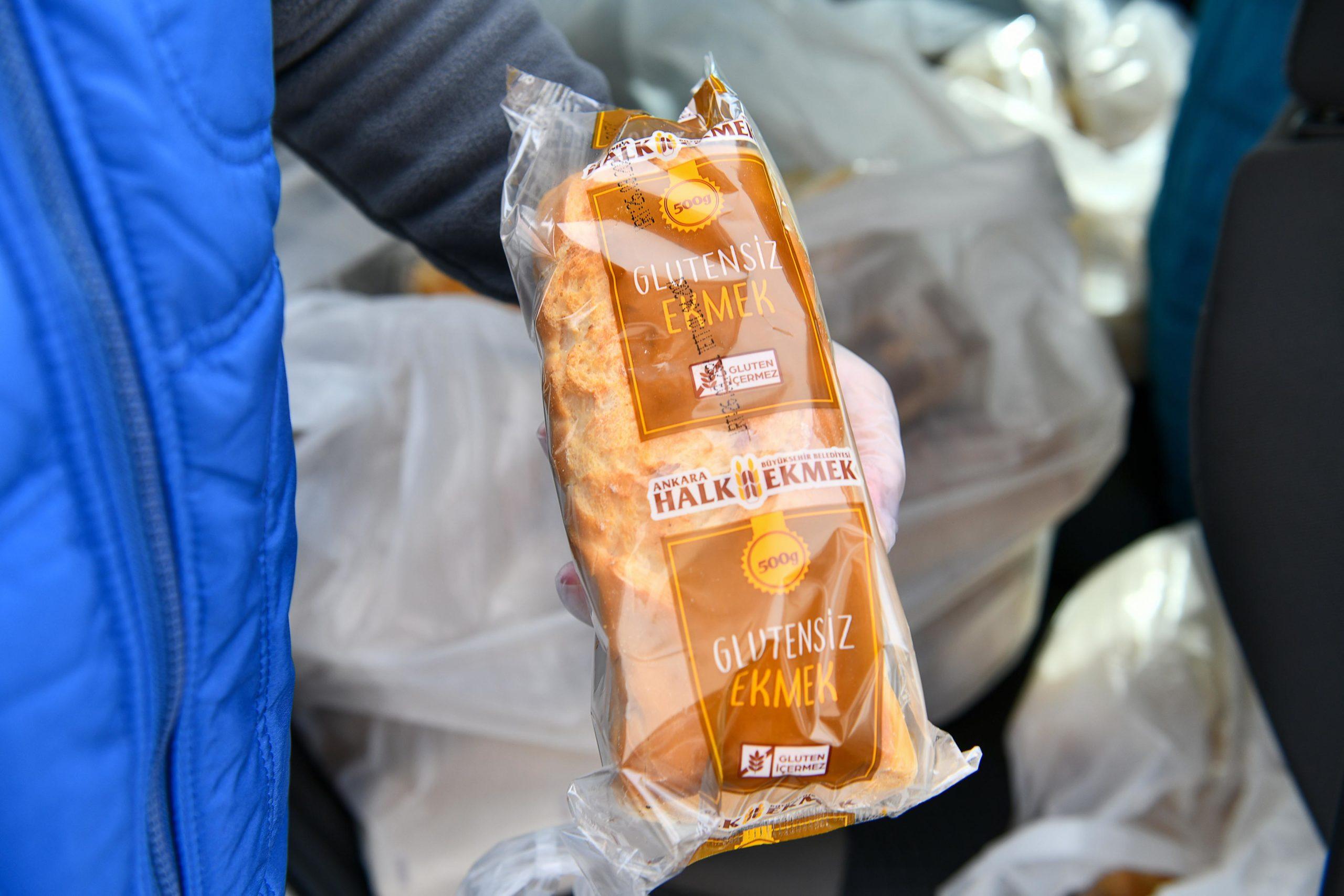 Başkent'te Çölyak Hastalarına Glütensiz Ekmek Desteği Veriliyor