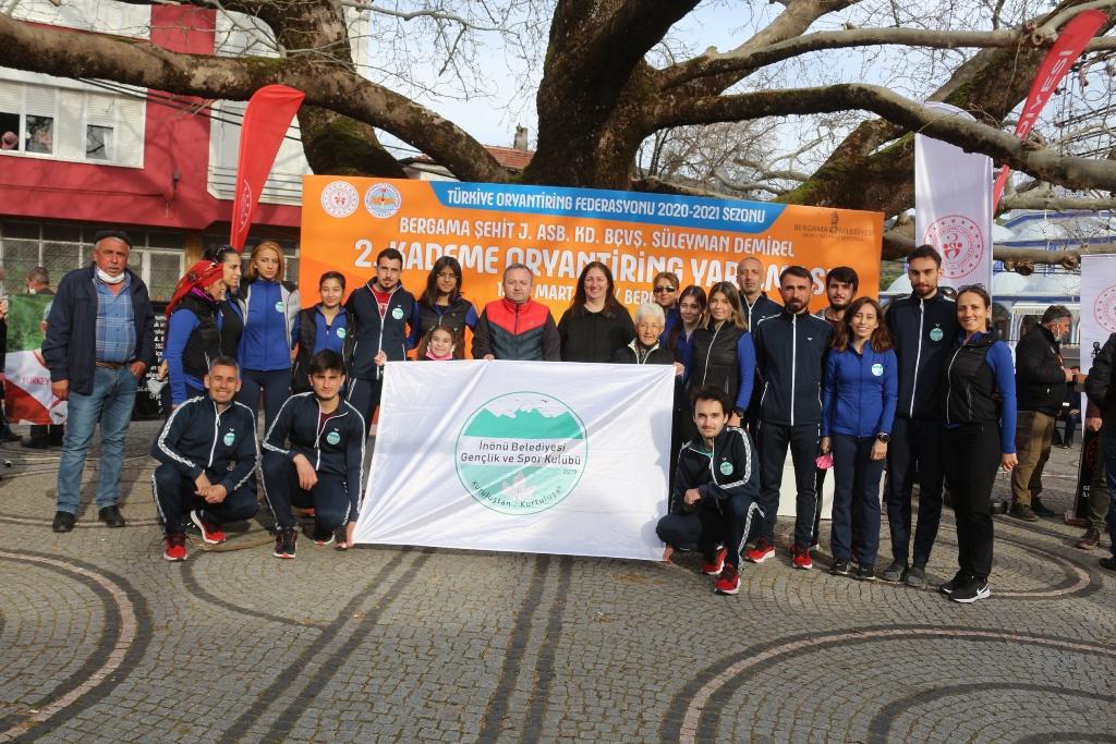 İnönü Belediyesi GSK İzmir'de Madalyaları Topladı
