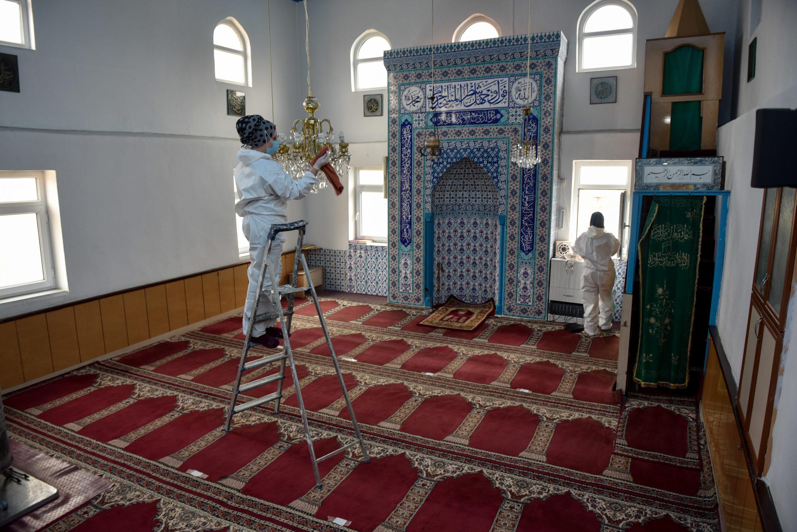 Taşköprü'de Ramazan Ayı Boyunca Camilere Dezenfekte Yapılacak