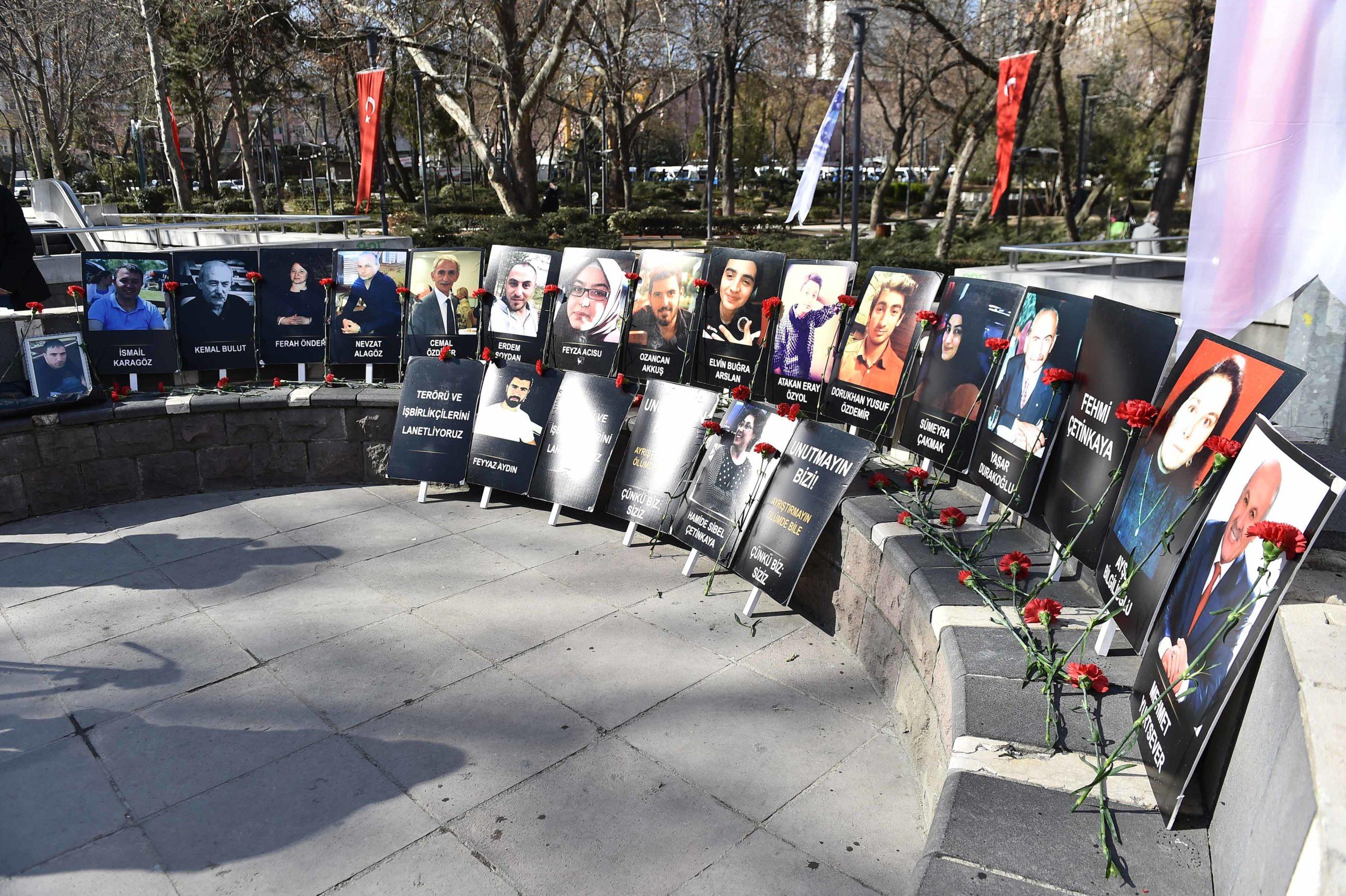 Güvenpark Saldırısında Hayatını Kaybedenler İçin Anma Programı Yapıldı