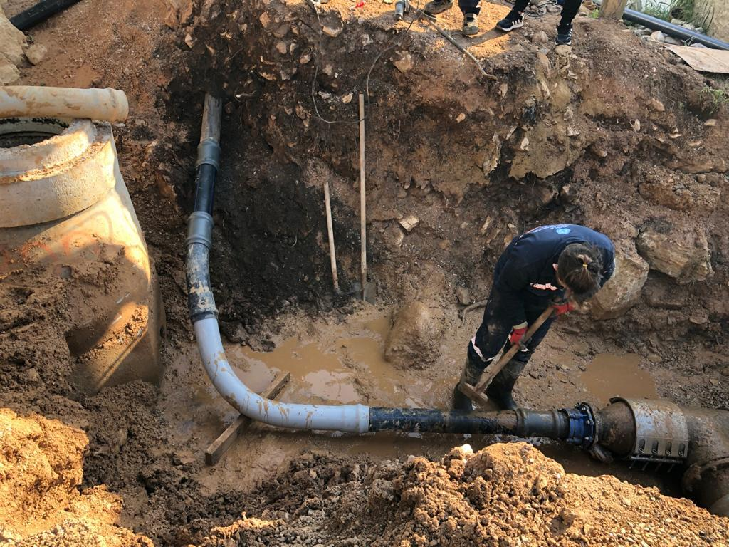 Muğla Yatağan'da İki Mahallenin İçme Suyu Hattı Yenilendi