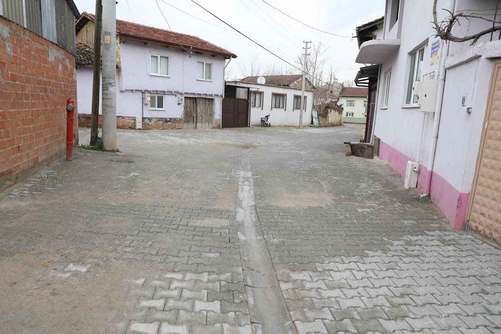 İnegöl'de Kulaca Mahallesi Sokakları 13 Bin M2 Parke Taşla Kaplandı