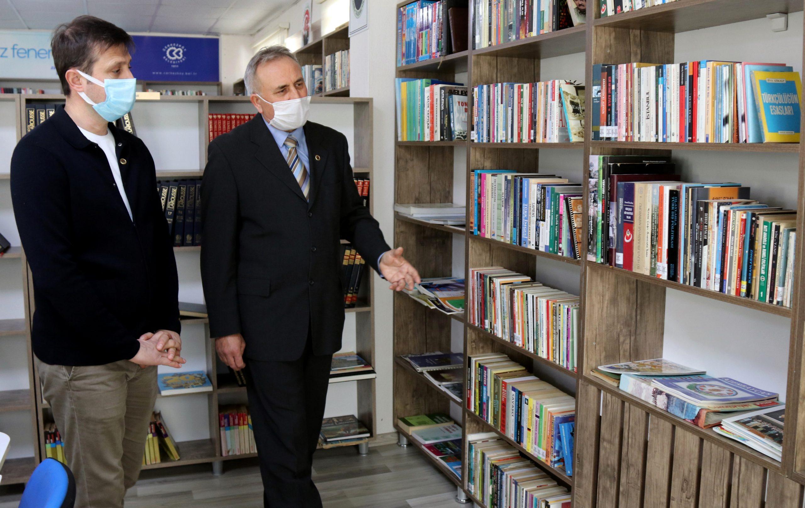 Çerkezköy'de Halk Kütüphanesi Hizmete Açıldı