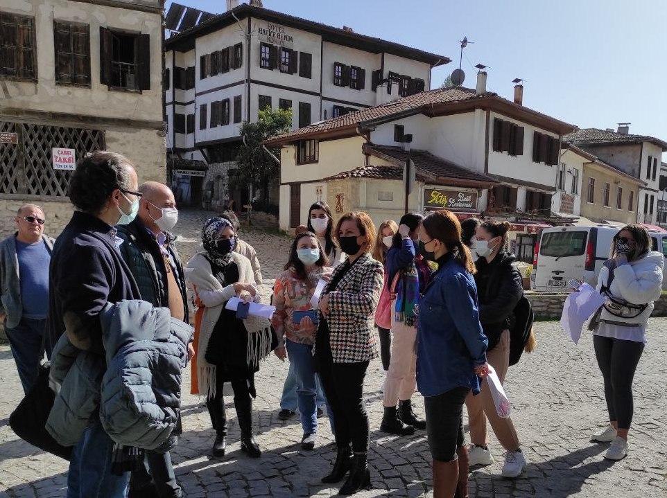 Safranbolu'da Tarihi Çarşı Bölgesinde Çalışma Başlatıldı