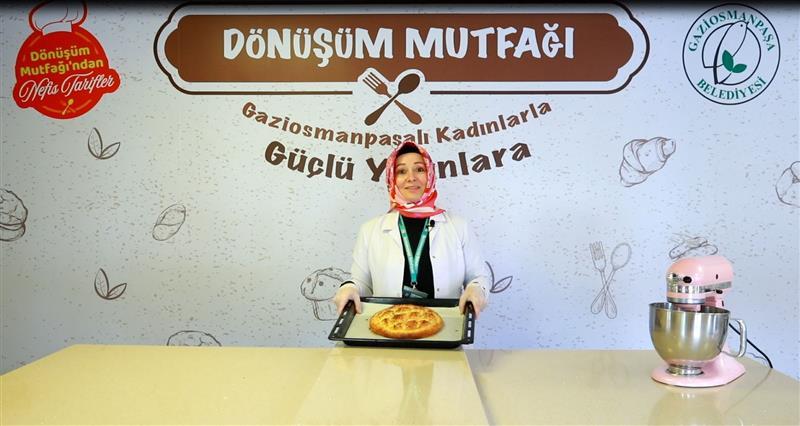 Gaziosmanpaşa'da 'Dönüşüm Mutfağı' İftara Pratik Tarifler Sunuyor