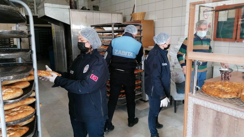 Seydişehir'de Ekmek Fırınlarına Denetim Yapıldı