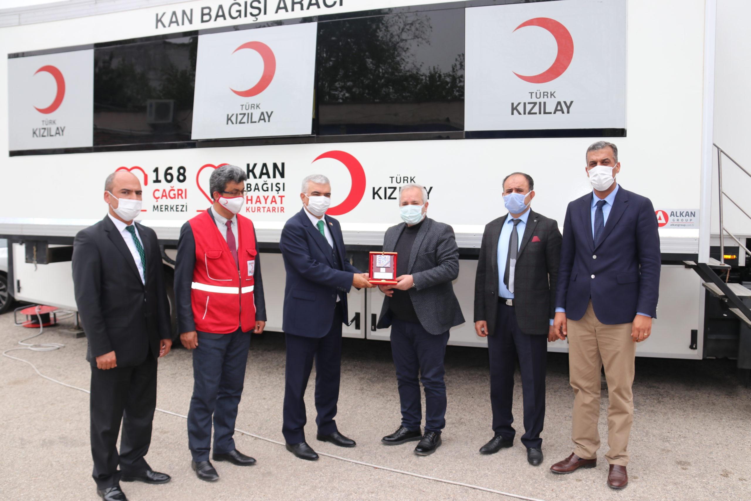 Kozan'da Kızılay İçin Kan Bağışı Kampanyası
