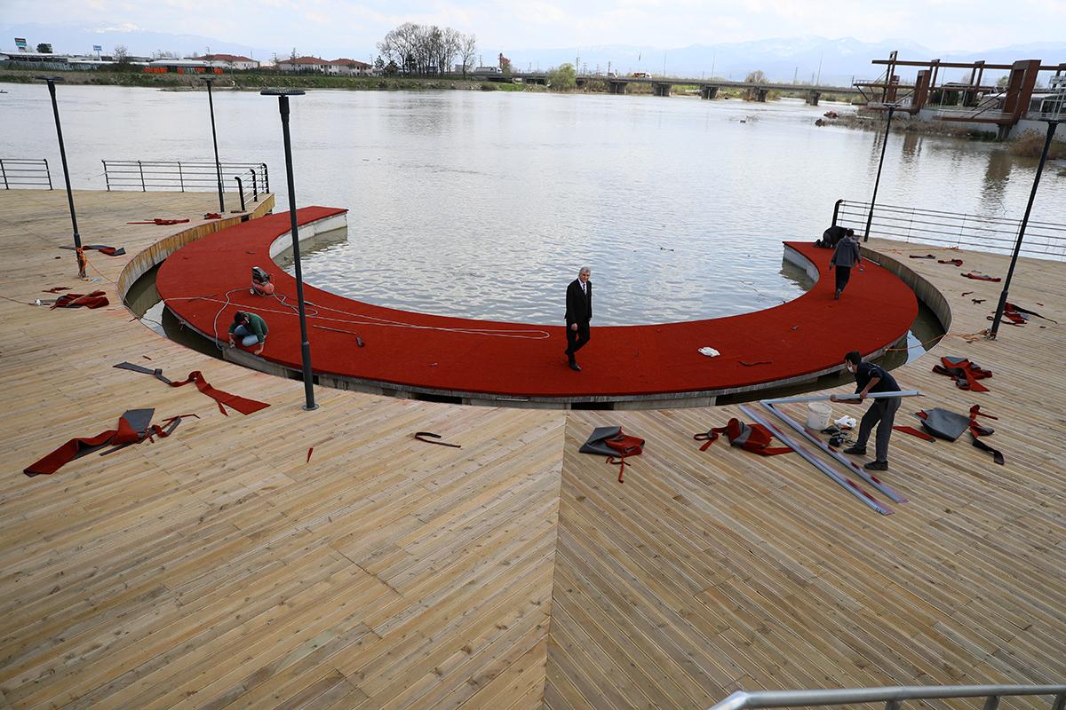 Sakarya Nehri Kıyısı Yeni Bir Sosyal Alan Oluyor