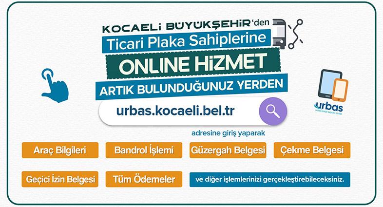 Kocaeli'de Ticari Plaka İşlemleri Online Gerçekleşiyor