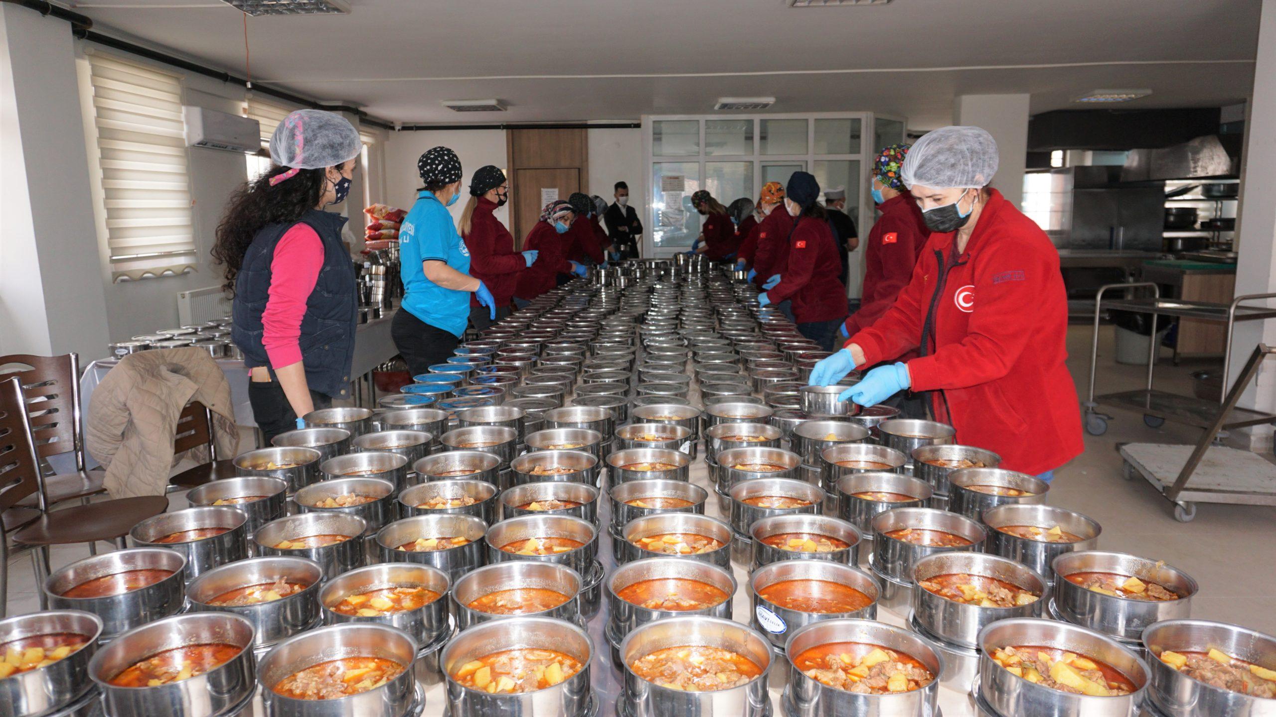 Beypazarı'nda Ramazan Ayı Boyunca Sıcak Yemek Dağıtımı Yapılacak
