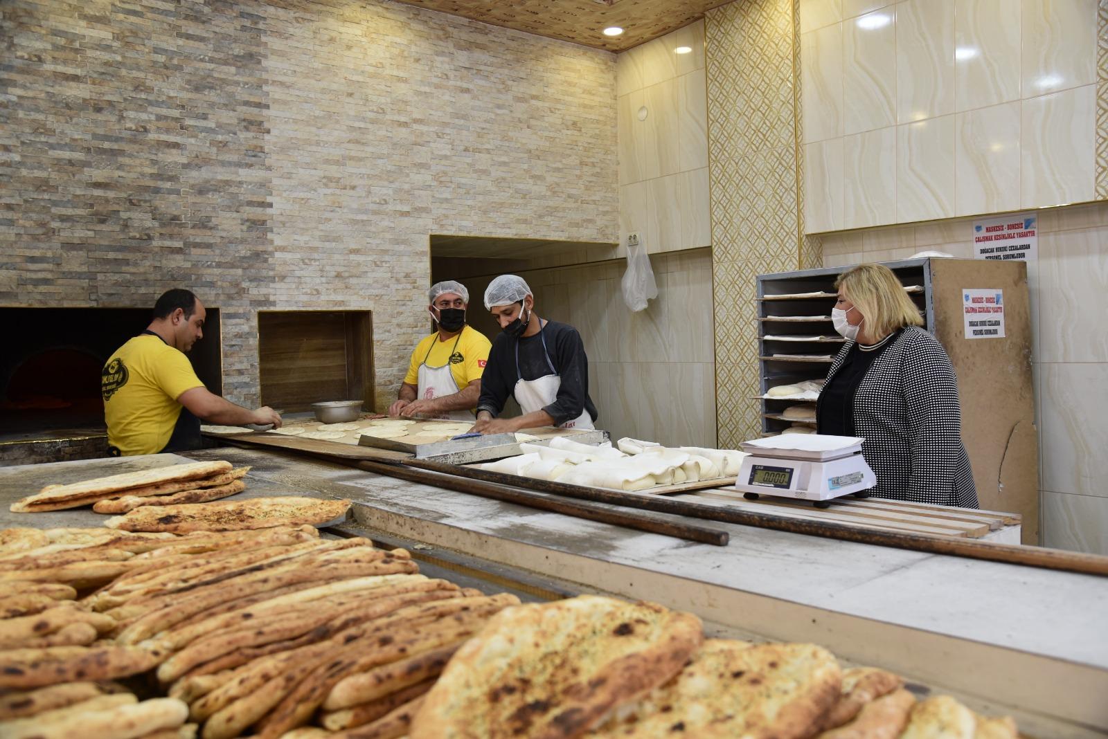 Ceyhan'da Ekmek Fırınları Denetlendi