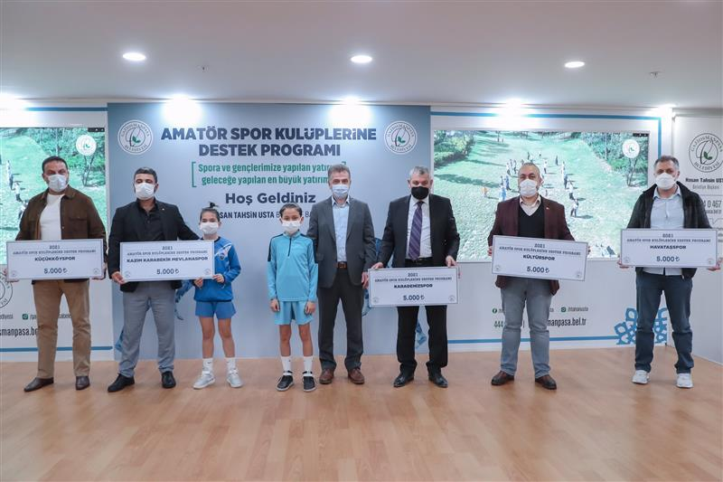 Gaziosmanpaşa'da Sporculara Destek Devam Ediyor