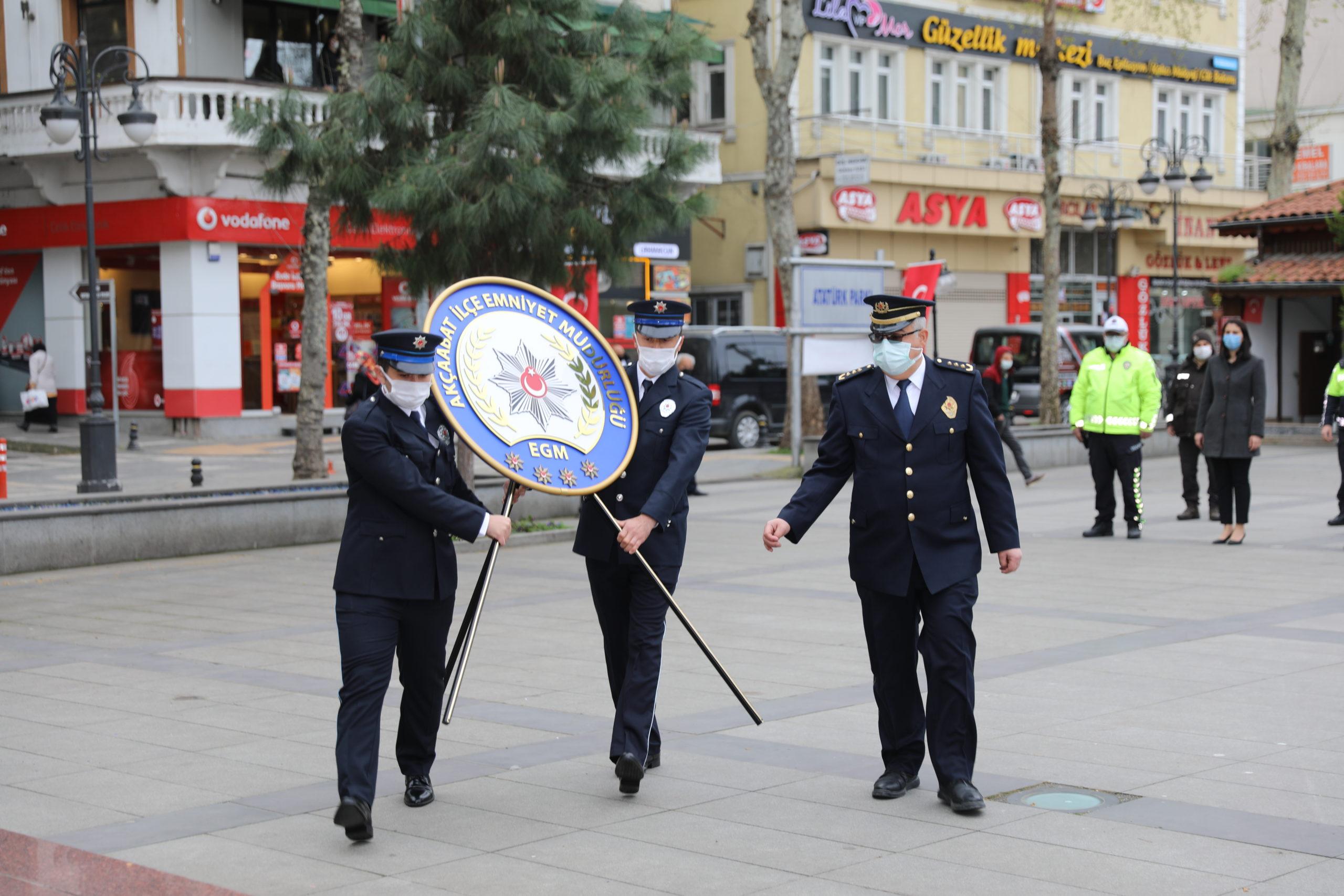 Akçaabat'ta Türk Polis Teşkilatı'nın 176. Yıl Dönümü Kutlandı