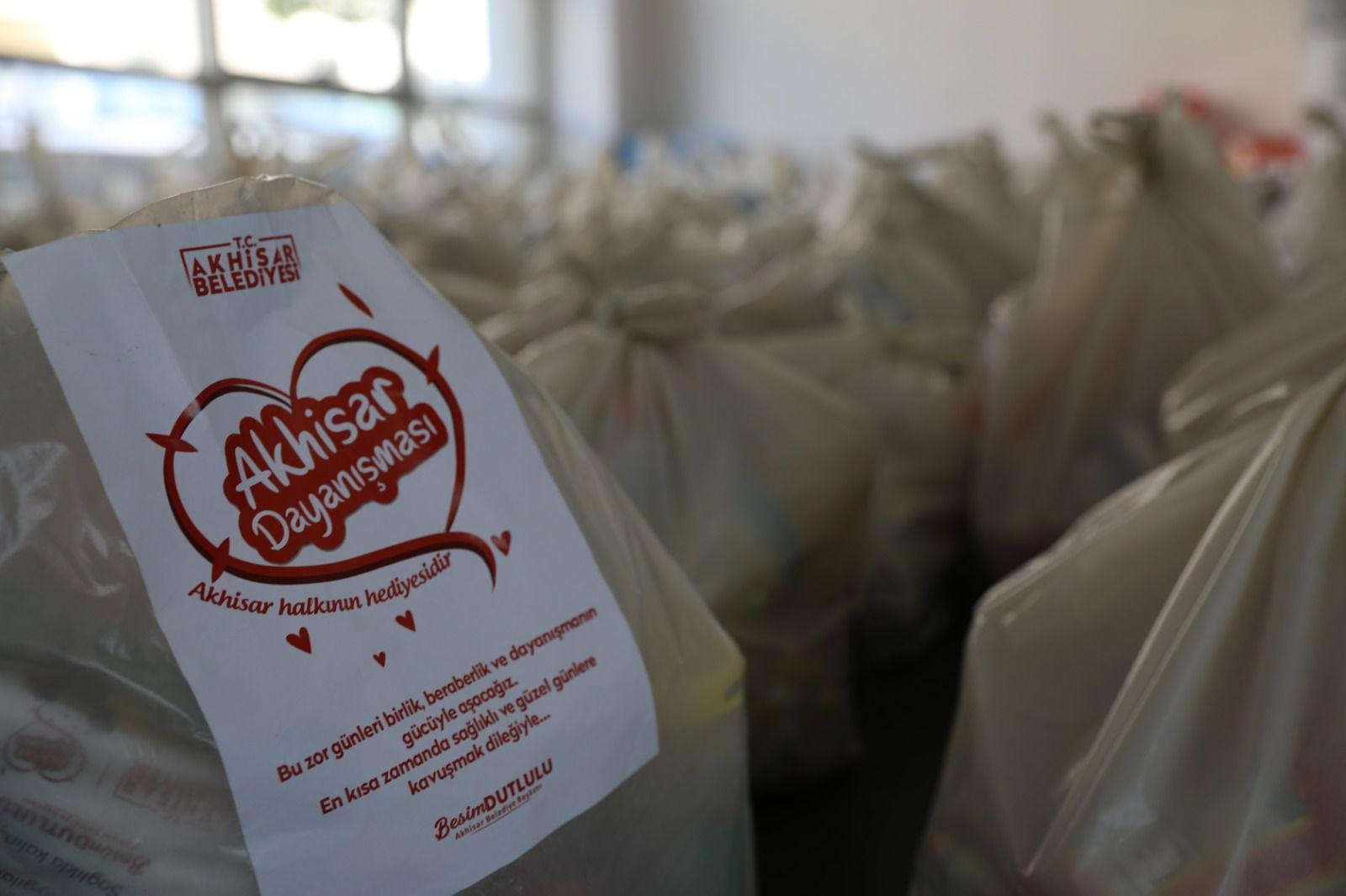 Akhisar'da Kahvehane Esnafına Nakit Desteği ve Gıda Yardımı